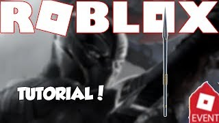 [EVENT] HOW TO GET THE BLACK PANTHER SPEAR | Roblox Innovation 2018 Event | Roblox Miner's Haven 𝐑𝐄𝐙