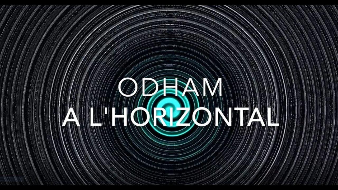A l'horizontale