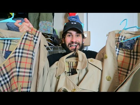 98ce99487799 TRIP TO THE THRIFT  32   6000 WORTH OF BURBERRY!!! - YouTube
