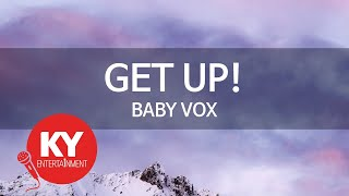 [KY ENTERTAINMENT] GET UP! - BABY VOX (KY.5959)