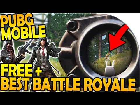 OFFICIAL PUBG MOBILE GAME - *BEST* BATTLE ROYALE GAME - Player Unknown Battlegrounds Mobile Gameplay