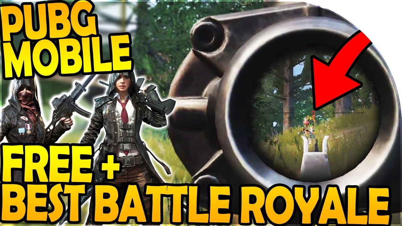 Official Pubg Mobile Gameplay: *BEST* BATTLE ROYALE GAME