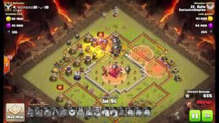 clash of clans Pt em cv11 full ataque top war recap