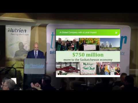Nutrien CEO Chuck Magro: Economic Impact, Jobs, Opportunity