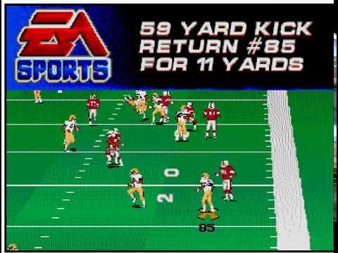 College Football USA '97 (video 177) (Sega Megadrive / Genesis)