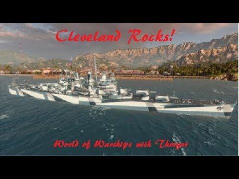 World of Warships- Cleveland Rocks!