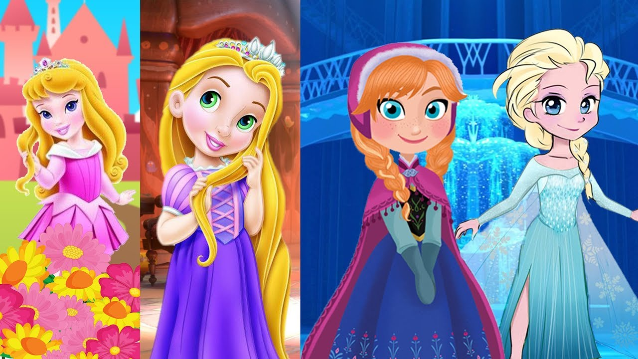 The More We Get Together Nursery Rhyme With Disney Princesses