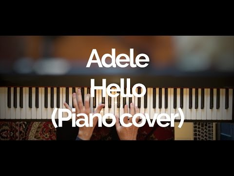 Adele - Hello (HQ Piano cover)