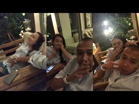 Download Youtube: Seronok Nedim usap perut Nora Danish, baby bump dah besar!