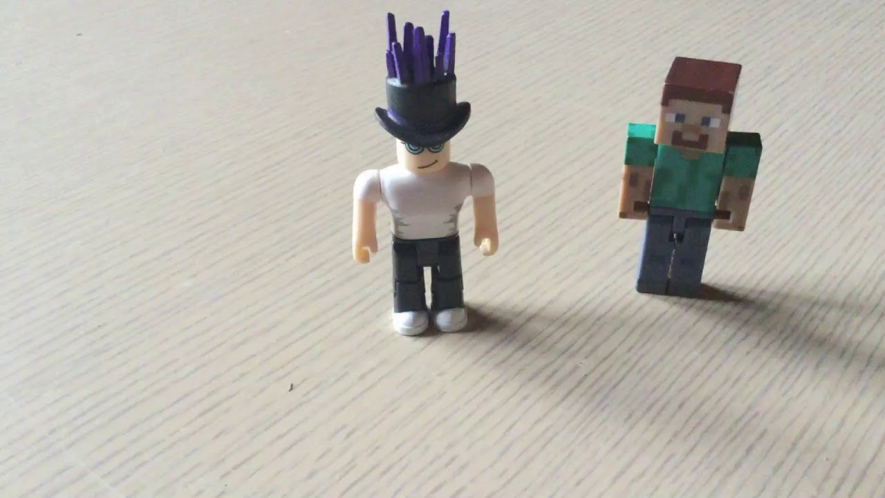 Minecraft Vs Roblox A Stop Motion Animation The Kids