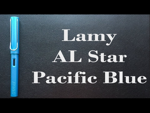 Lamy AL Star Pacific Blue Review...and a giveaway