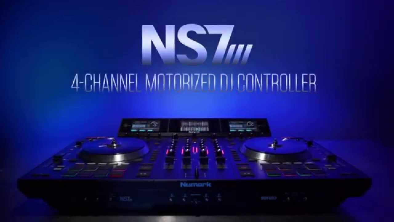 numark ns7iii serato dj controller