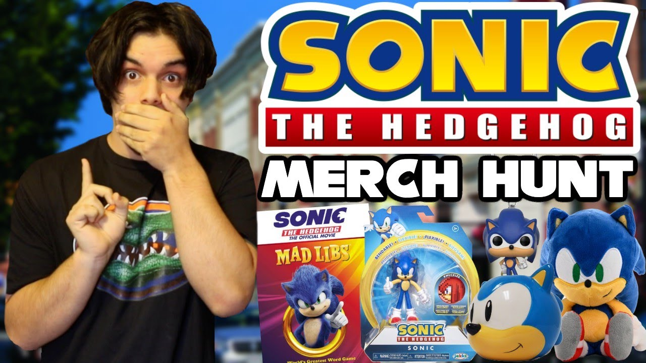 Sonic Merch Hunt New 2020 Sonic Merch Toys Games Books More