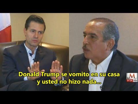Carlos Marín humilla y ridiculiza a Peña Nieto durante entrevista al aire 2016