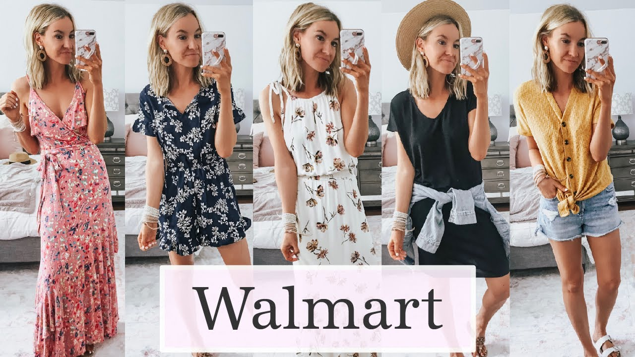 Walmart Summer Try On Clothing Haul 2019 | Affordable Summer Outfit Ideas 1