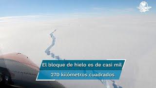Se desprende un iceberg del tamaño de Londres