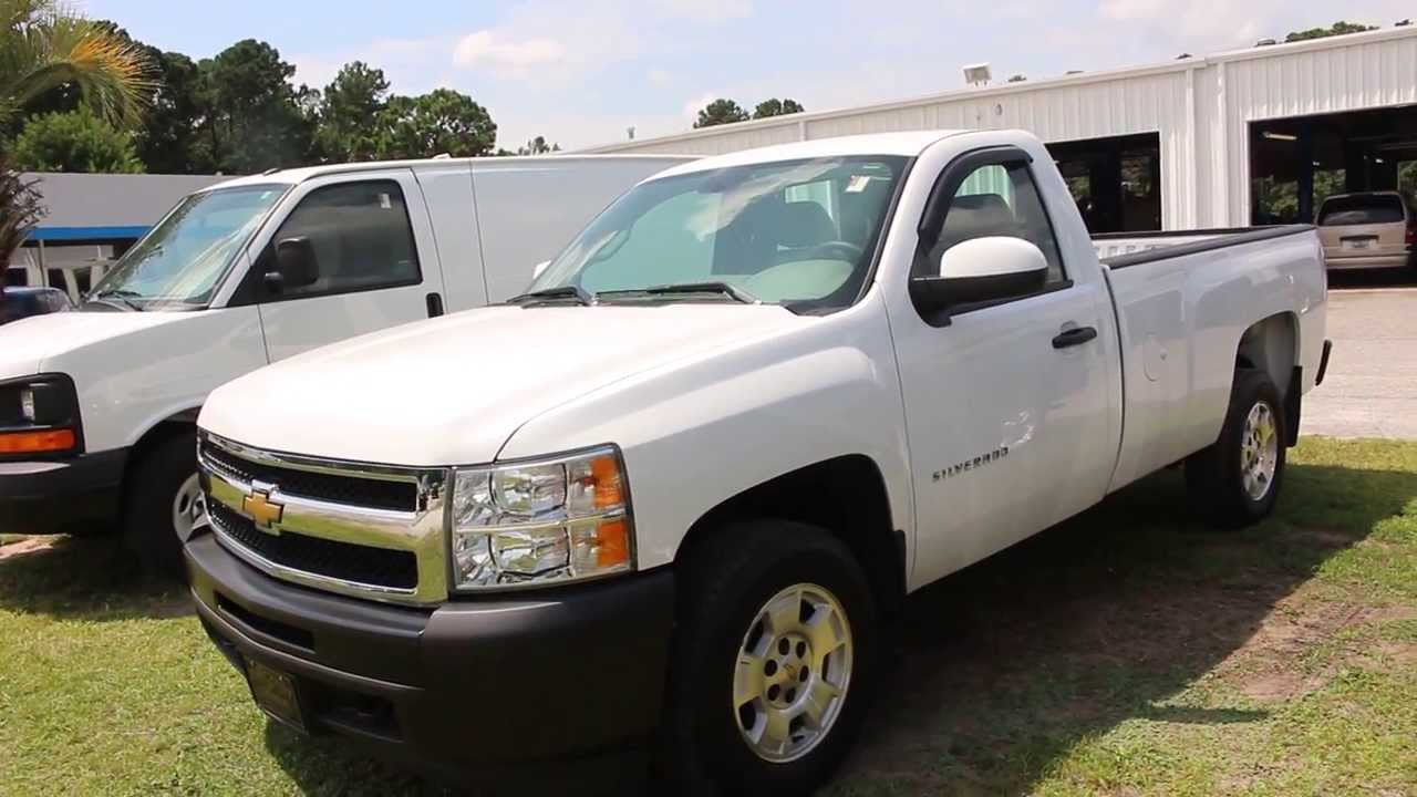 2012 chevy silverado work truck preowned trucks charleston sc. Cars Review. Best American Auto & Cars Review
