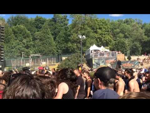 Carcass live Heavy Montreal 2016