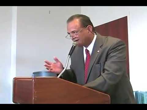 Dr Sam Beeler Addresses NJ Commission on Indian Affairs
