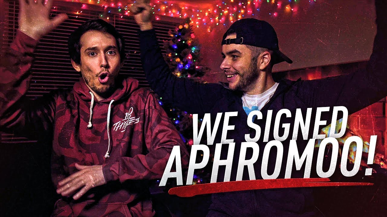 We Signed Aphromoo to 100 Thieves!