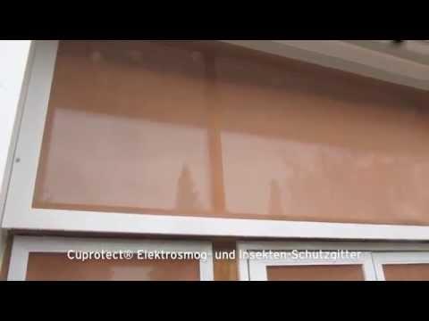 Cuprotect Elektrosmog Und Insekten Schutzgitter Youtube