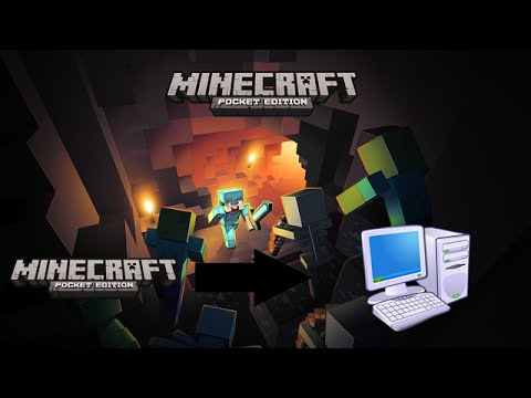 comment t l charger minecraft pe sur pc windows vista 7 8 8 1 10 youtube. Black Bedroom Furniture Sets. Home Design Ideas
