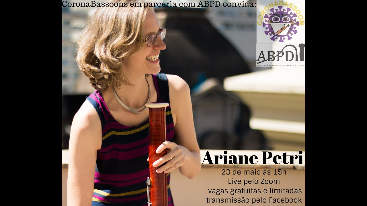Live com a professora Ariane Petri