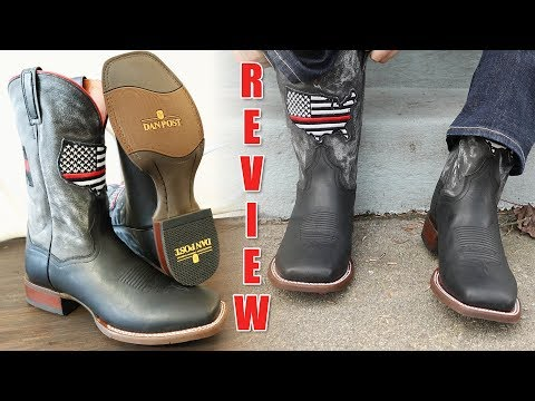 Dan Post Thin Red Line Cowboy Boots Review