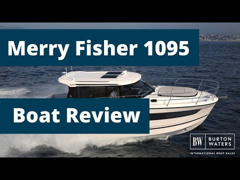 Jeanneau Merry Fisher 1095 - Southampton Boat Show Review By Burton Waters