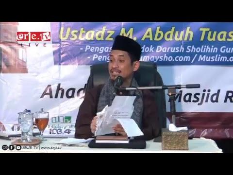 "Tabligh akbar ""Pintu Rezkimu Belum Dibuka"" Bersama Ustadz Muhammad Abduh Tuasikal,ST,MSc"