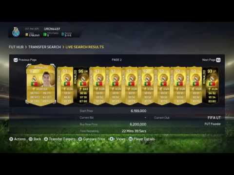 Fifa 15 Ultimate Team:Glitch Get Any Player For Free!