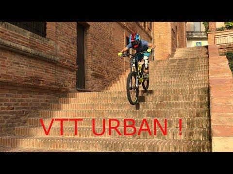 VTT URBAN DH   DELIRE 2017