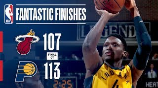 The Best Moments From The Pacers & Heat OT Thriller !