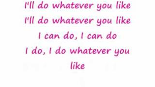Nicole Scherzinger ft T.I - whatever you like lyrics