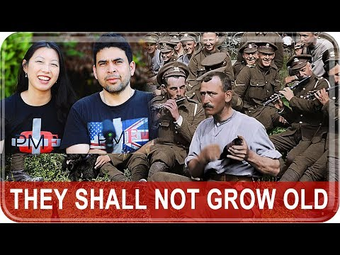 """Americans React To """"They Shall Not Grow Old"""" Trailer + Review Film"""