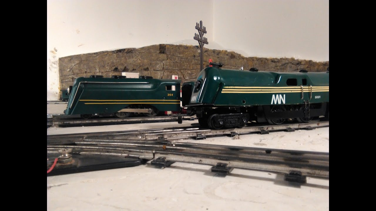 Two custom-made Marx locomotives | Classic Toy Trains Magazine