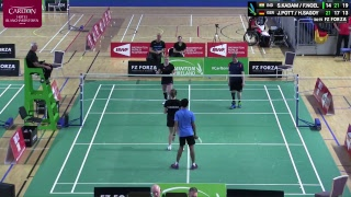 FZ Forza Irish ParaBadminton International 2018 Day 1 Court 4