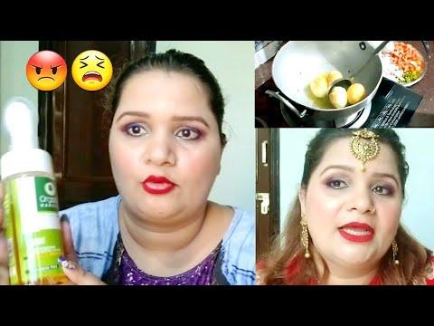 हर-दिन-मेरे-लिए-स्पेशल-होता-है//-नवरात्रि-मेकअप-लुक//daily-hindi-vlogs-🤗😡🙉