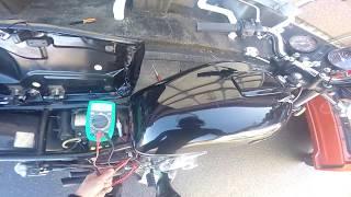 【GS400】旧車の電圧降下対策:ステータコイルのギボシ付け替え