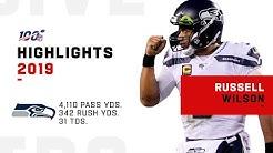 Russell Wilson Full Season Highlights | NFL 2019
