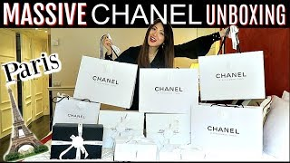 MASSIVE CHANEL UNBOXING | 31 RUE CAMBON | CHARIS IN PARIS 💕