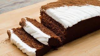 TIRAMISU POUND CAKE I EGGLESS & WITHOUT OVEN