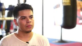 Angel Bojado exclusive interivew and sparring