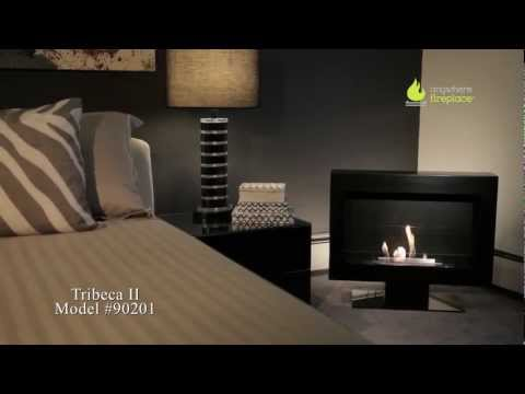 Anywhere Fireplace - Tribeca II Model Bio-Ethanol Ventless Fireplace