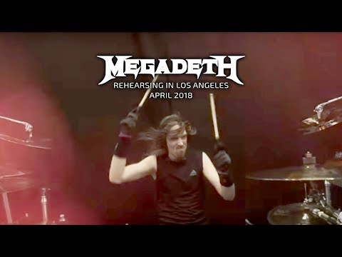 Megadeth - Rehearsals in LA - April 2018 Thumbnail image