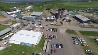 South Mountain Creamery 5-3-2015 Festival - MAV Maryland Aerial Video