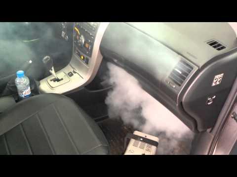 убираем запахи в машине