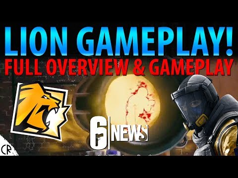 Lion Gameplay & Overview! - Operation Chimera Outbreak - 6News - Tom Clancy's Rainbow Six