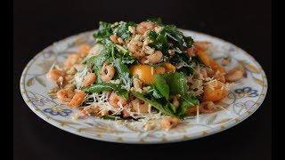 Салат с рукколой  и креветками рецепт. Вкусно и изыскано(укр)