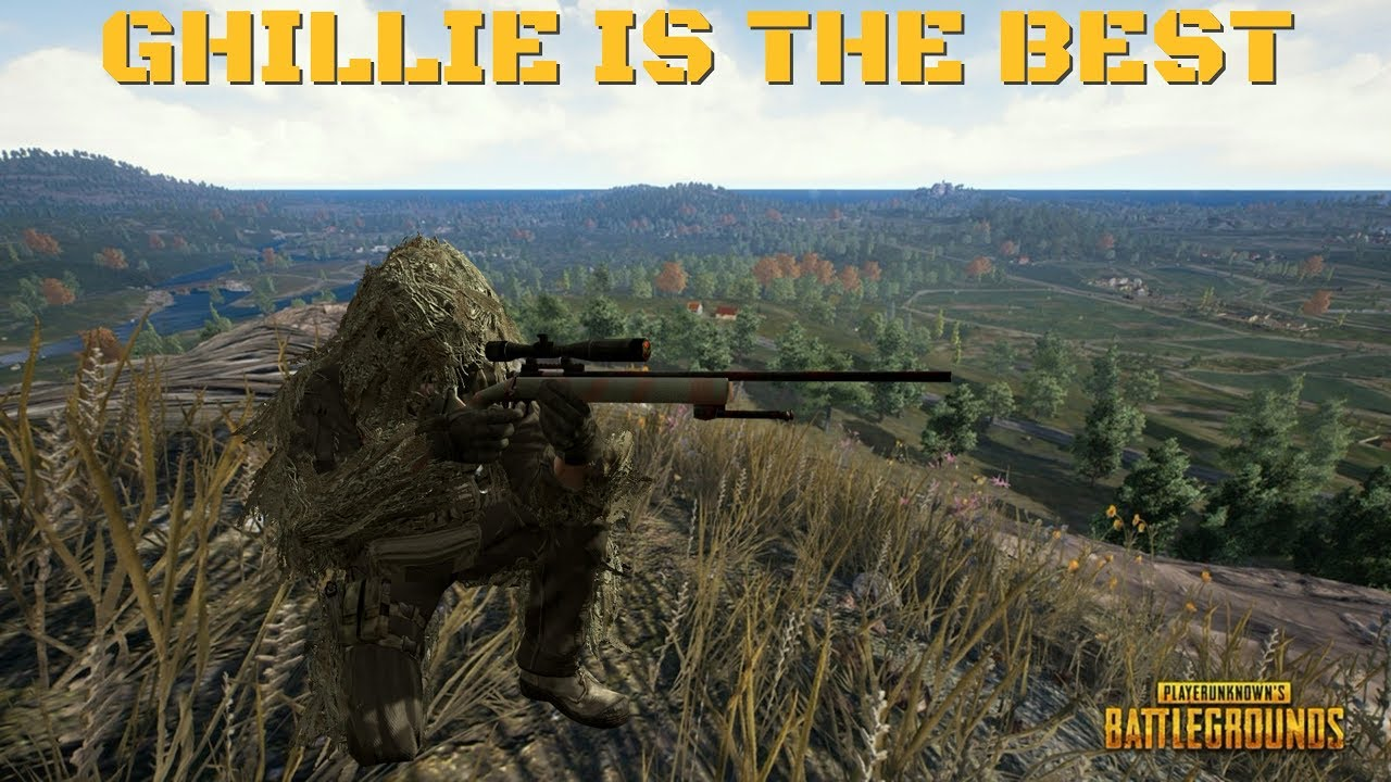 "I Made Some Wallpapers From Player Unknown S Battleground: ""THE GHILLIE SUIT IS AMAZING""-PUBG/Player Unknown's"
